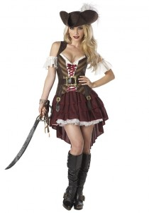 Girl Jack Sparrow Costume