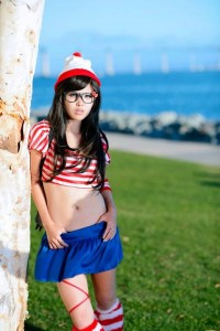 Girl Waldo Costume
