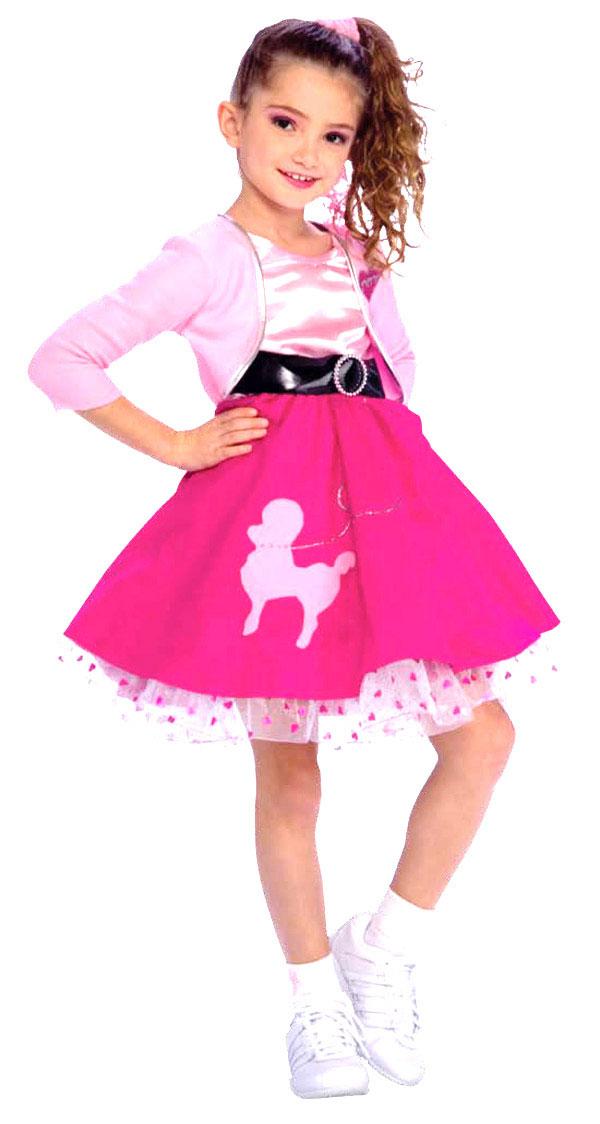Girls 50s Costume  sc 1 st  Parties Costume & 50s Costumes (for Men Women kids) | Parties Costume