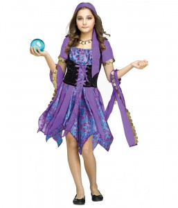 Girls Fortune Teller Costume
