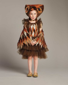 Girls Owl Costume