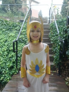 Girls She Ra Costume