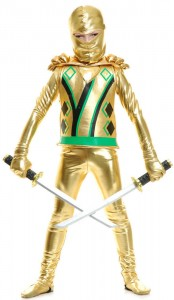 Gold Ninjago Costume