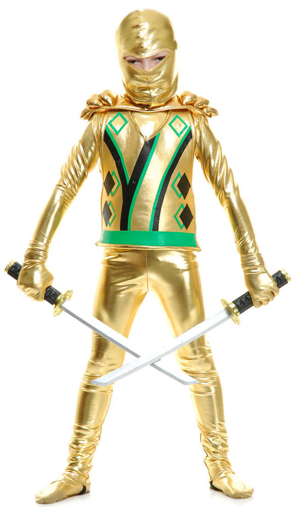 Ninjago costumes - Ninjago lloyd gold ...