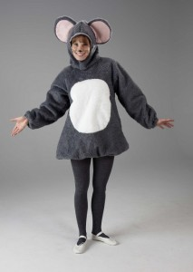 Grey Mouse Costume