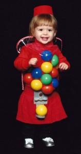 Gumball Machine Costume Baby