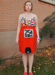 Gumball Machine Costume DIY