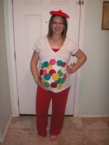 Gumball Machine Costume Pregnant
