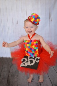 Gumball Machine Costume Tutu