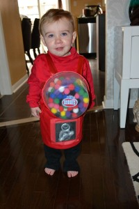 Gumball Machine Costume for Kids