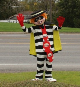 Hamburglar Costume Kids