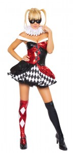 Harlequin Clown Costume