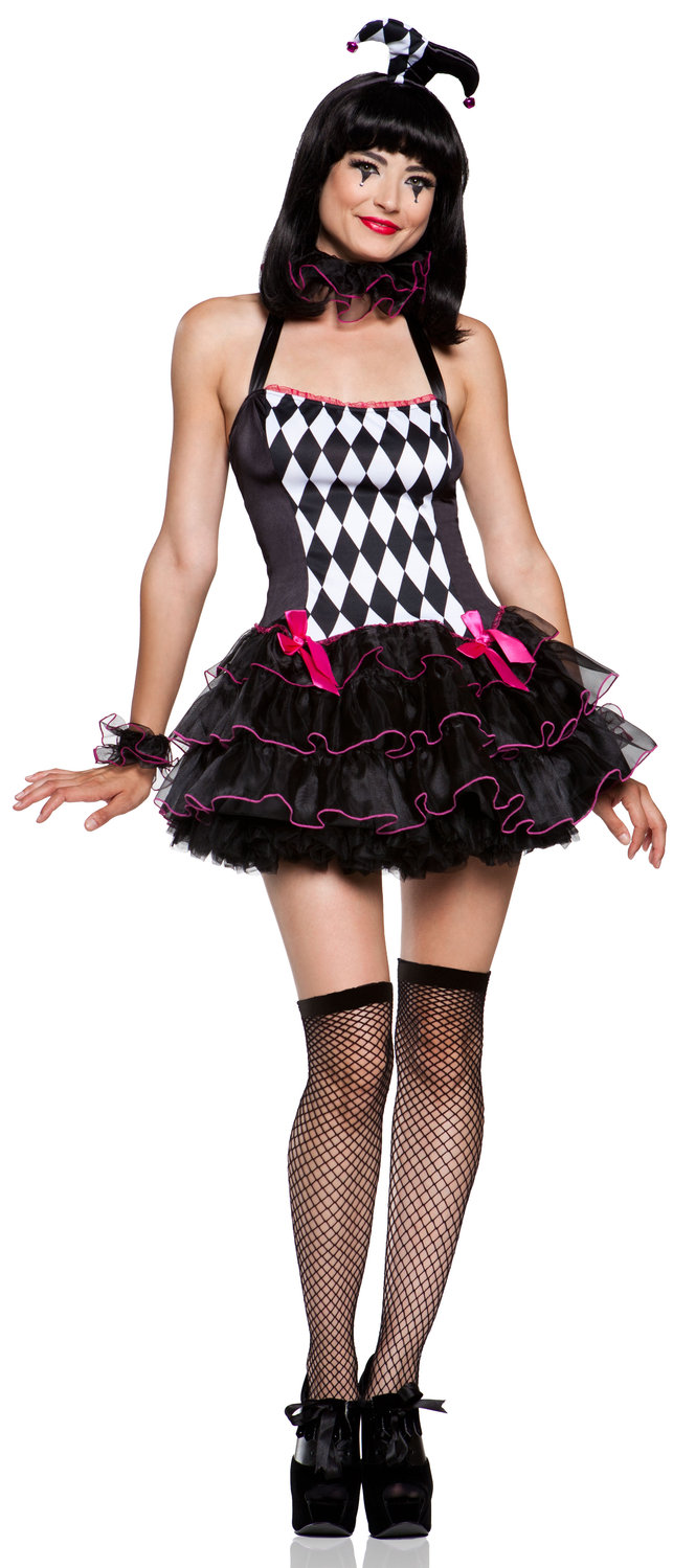 Harlequin Halloween Costume
