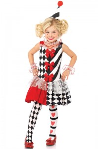 Harlequin Girl Costume