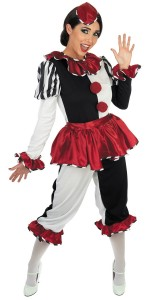 Harlequin Womens Costume