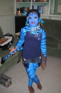 Homemade Avatar Costume