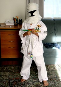 Homemade Clone Trooper Costume