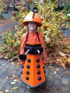 Homemade Dalek Costume
