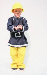 Homemade Fireman Costume