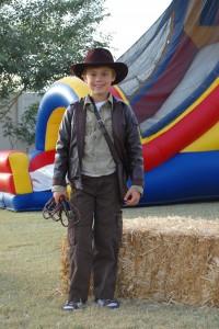 Homemade Indiana Jones Costume