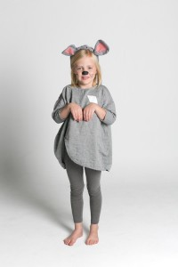 Homemade Mouse Costume