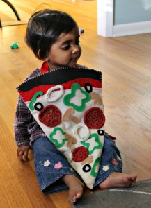 Homemade Pizza Costume