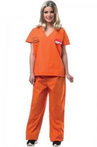 Homemade Prisoner Costume