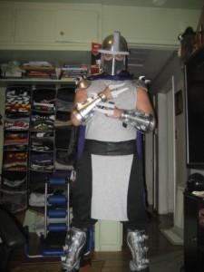 Homemade Shredder Costume