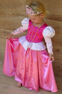 Homemade Sleeping Beauty Costume