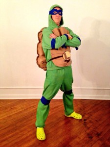 Homemade TMNT Costumes