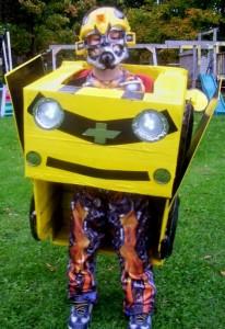 Homemade Transformer Costume