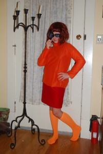 Homemade Velma Costume