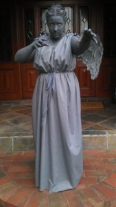 Homemade Weeping Angel Costume