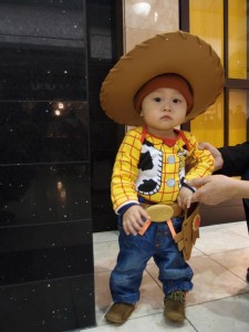Homemade Woody Costume