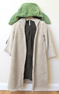 Homemade Yoda Costume
