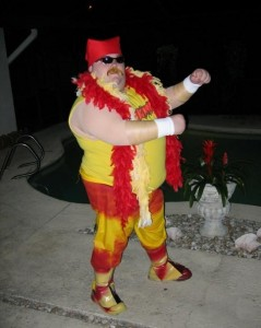 Hulk Hogan Costume Pictures