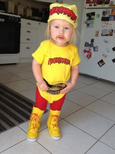 Hulk Hogan Costume for Kids