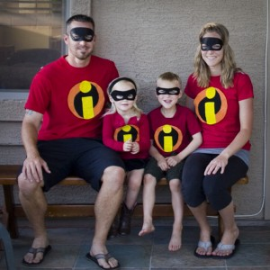 Incredibles Family Costume