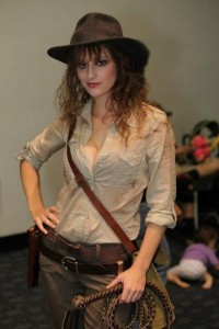 Indiana Jones Costume Girl
