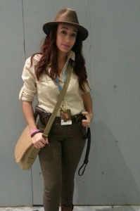 Indiana Jones Female Costume