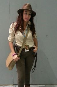 Indiana Jones Female Costume