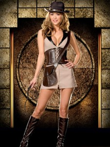 Indiana Jones Womens Costume
