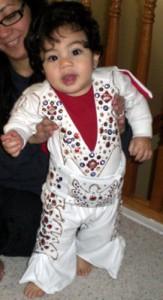 Infant Elvis Costume