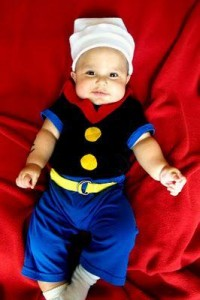 Infant Popeye Costume