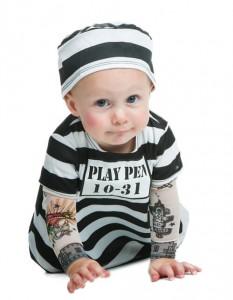 Infant Prisoner Costume