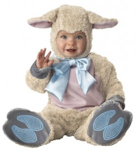 Infant Sheep Costume