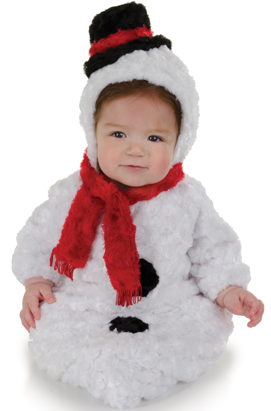 Snowman costumes symbolize the winter season without pin-pointing a specific religious affiliation making them perfect for use all winter long by all sorts of organizations.