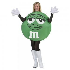 Inflatable M&M Costume