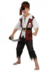 Jack Sparrow Costume Boys