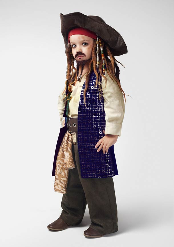 How to look like jack sparrow